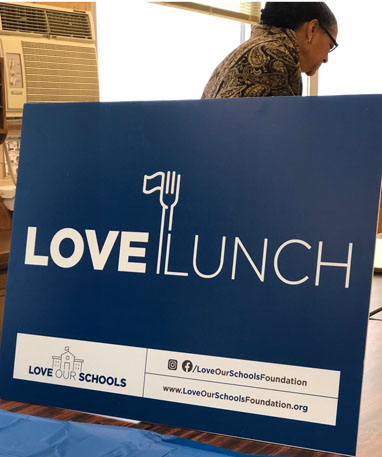 Love Our Schools - 2020 Love Lunch